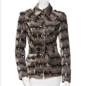 Diane von Furstenberg Sequin Jacket Size 2 XS